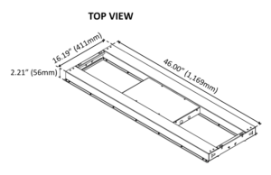 BLI PerfectPar 330W Dimensional Drawing